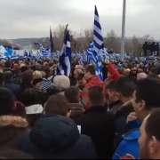 Grecja: Ponad 100 tys. osób na ulicach wzywało Macedonię do zmiany nazwy