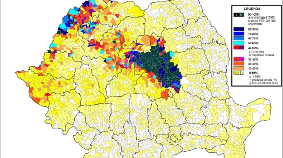Rumunia Wegrzy Siedmiogrodu Domagaja Sie Autonomii Mapa Kresy