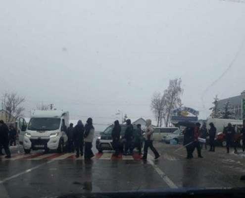 Ukraińcy blokują polsko-ukraińskie przejścia graniczne