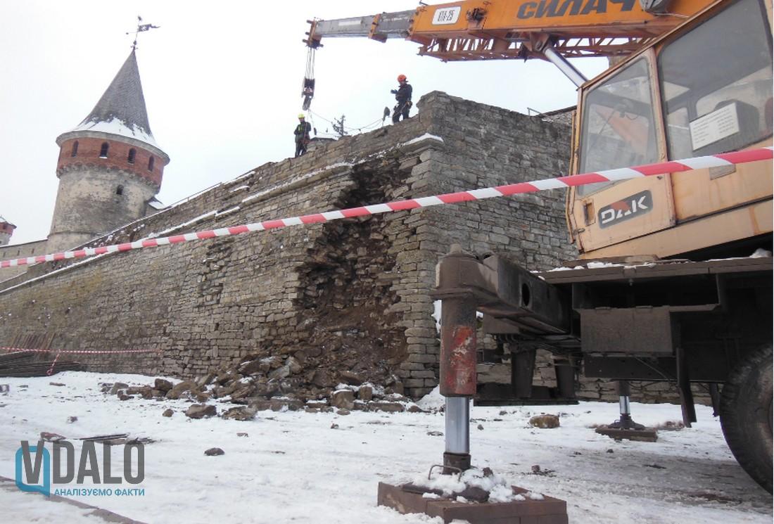 Kamieniec Podolski, zamek