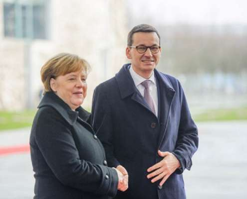 Morawiecki: Zaprosiłem Merkel na obchody 100-lecia odzyskania niepodległości