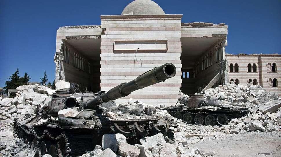chemicznego szpital syryjskie msz