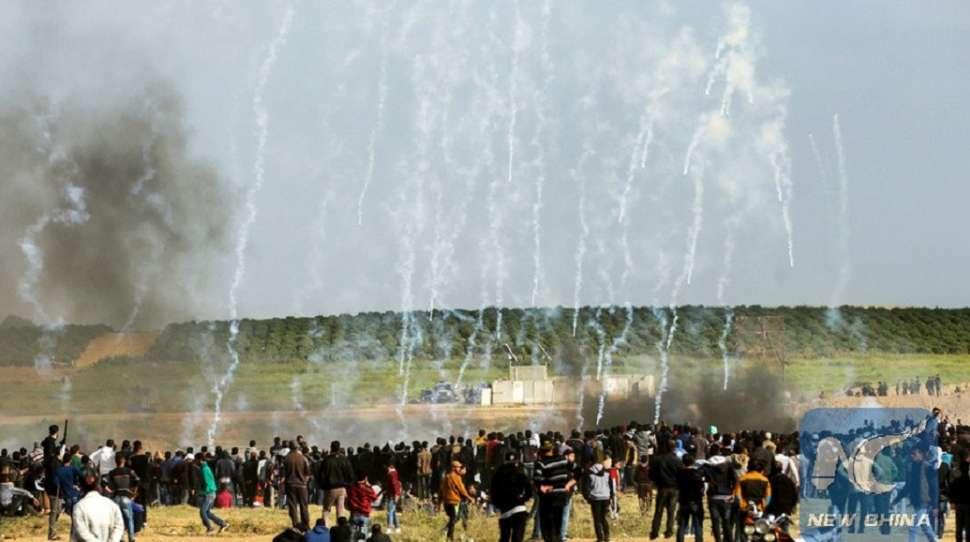 granicy protestujących