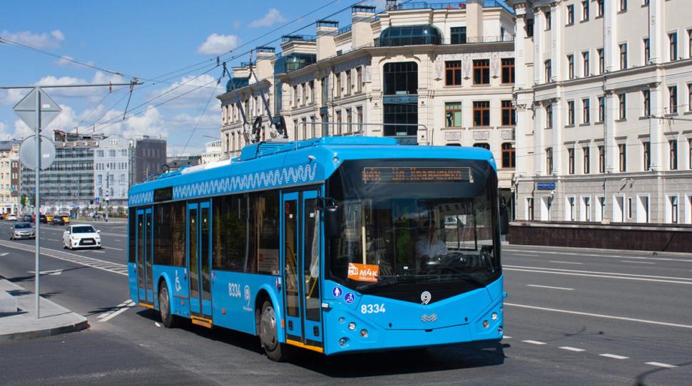 Koniec trolejbusów w Moskwie » Kresy