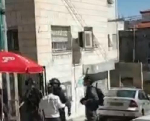 funkcjonariusze izraelskiej straży granicznej, źródło: facebook