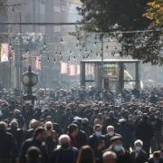 Protest w stolicy Armenii, Erywaniu. Fot. TASS