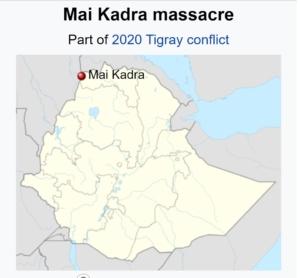 położenie miasta w Etiopii
